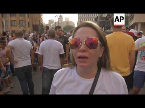 Beirut protesters call for electoral law reform