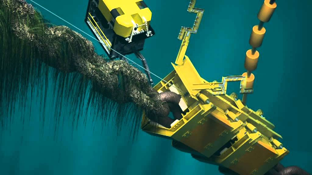 Subsea Chain Cleaner Youtube