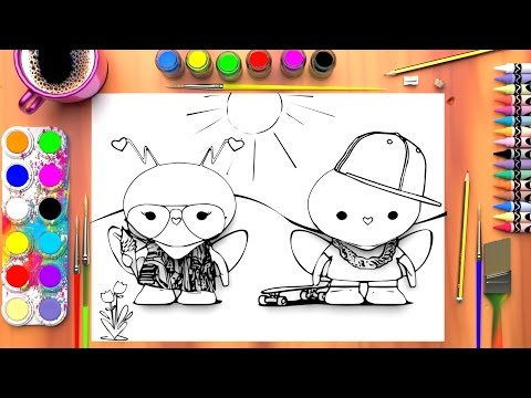 Colouring Pages For Toddlers Alphabet : Colouring page colouring pages for kids learn colors the