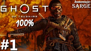 Zagrajmy w Ghost of Tsushima PL (100%) odc. 1 - Honor samuraja