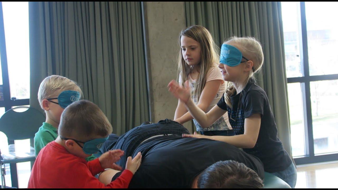 Blindfolded Massage