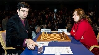 Vladimir Kramnik vs Judit Polgar - English Opening - London Chess Classic 2012 (Chessworld.net)