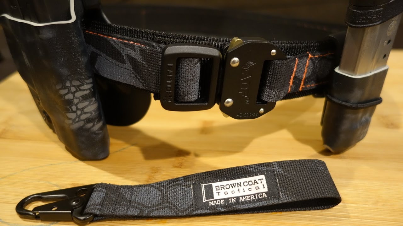 Brown Coat Tactical Kryptek Typhon EDC Belt w/Raptor Buckle 2.0 ...