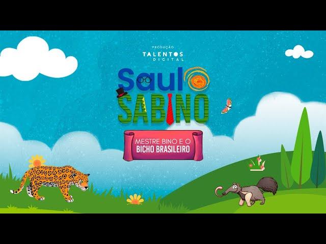 Mestre Bino e o Bicho Brasileiro - Saulo Sabino #FiqueemCasa e Cante #Comigo