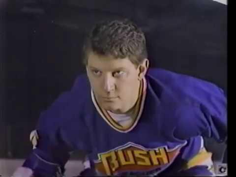 KSDK Promo - Bob Richards & Mike Bush Hockey spot (1986)