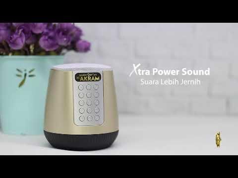 Speaker Quran Portable Suara Super Jernih