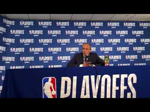 Ettore Messina on fight Spurs showed in Game 5, and season overall