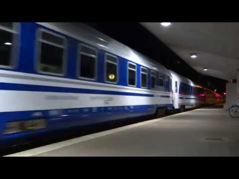 D414 Alpine Pearls from Beograd to Zurich arrives & departs in Ljubljana