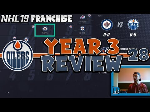 GETTING SET FOR YEAR 3 PLAYOFFS!   NHL 19 Edmonton Oilers Franchise Mode Episode 28