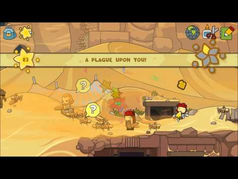 Let's Play Scribblenauts Unlimited Part 35 - Abjad Dunes