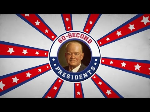 Herbert Hoover | 60-Second Presidents | PBS