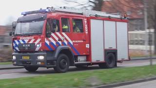 Prio 1 TS 18-7032 Gebouwbrand ( OPS Middelbrand ) Spie Industrieweg Sliedrecht