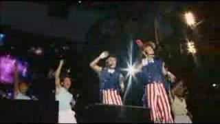 Binetsu DANJI performing Amai Memai at Kishidan's 2006 Banpaku, Kyo...
