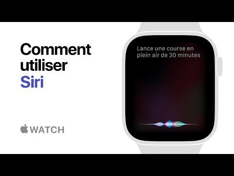 AppleWatch Series4 - Comment utiliser Siri - Apple