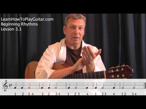Reading Rhythm Notation: Exercise 3.1