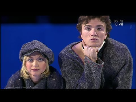 "[4K60P] Elena Berezhnaya And Anton Sikharulidze 2002 SLC Exhibition - Charlie Chaplin ""The Kid"""