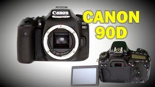 обзор Canon 90D (и сравнение с Canon R)