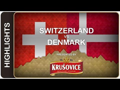 Blum bombshell shatters Denmark - Switzerland-Denmark HL - #IIHFWorlds 2016 - 동영상