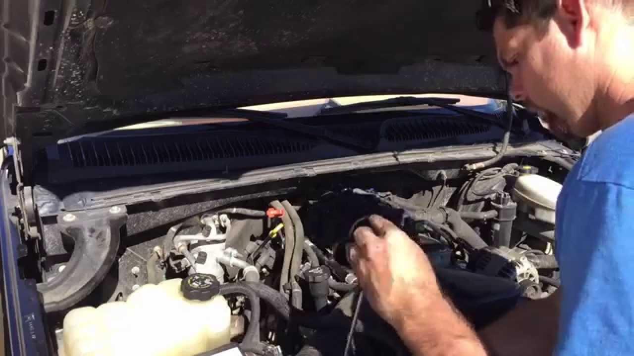 99-08 Chevrolet Silverado Knock Sensor Replacement all V8 's