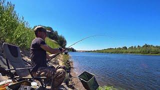 Вот это загиб В этой яме полно рыбы Рыбалка на реке Ахтуба 1 часть
