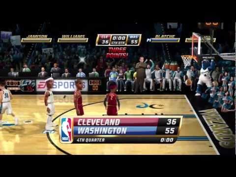 NBA Jam - Cavaliers vs. Wizards Gameplay HD