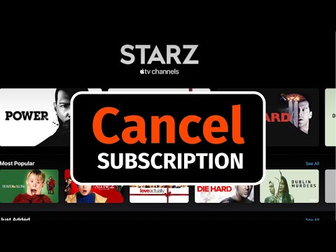 How To Cancel STARZ Subscription | Apple TV Channel