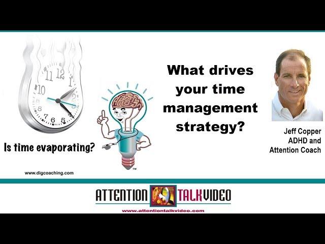 ADHD Mindset Tip: Time Management