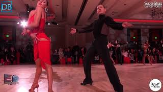 Part 6! Approach the Bar with DanceBeat! SF Open 2018! Pro Latin! Troels Bager and Ina Jeliazkova!