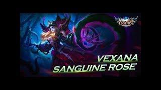 Mobile Legends: Bang Bang! Vexana New Skin | Sanguine Rose |