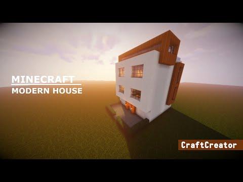 Minecraft - Modern house Tutorial
