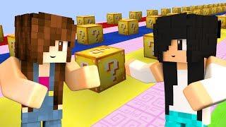 Minecraft Lucky Block - ESSE MAPA EXPLODIU MUITO