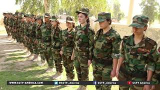 Yezidi women are force united against ISIL