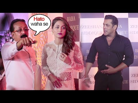 Hina Khan Shows ATTITUDE In Front Of Salman Khan At Baba Siddiqui's Iftaar Party 2018