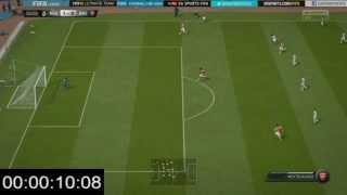 Ronaldo vs Mertesacker Pace Fifa 15