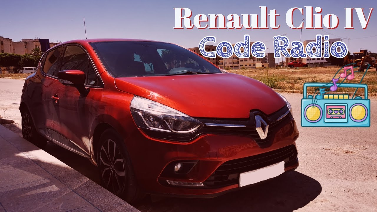 Renault Clio 4 Free Code RADIO