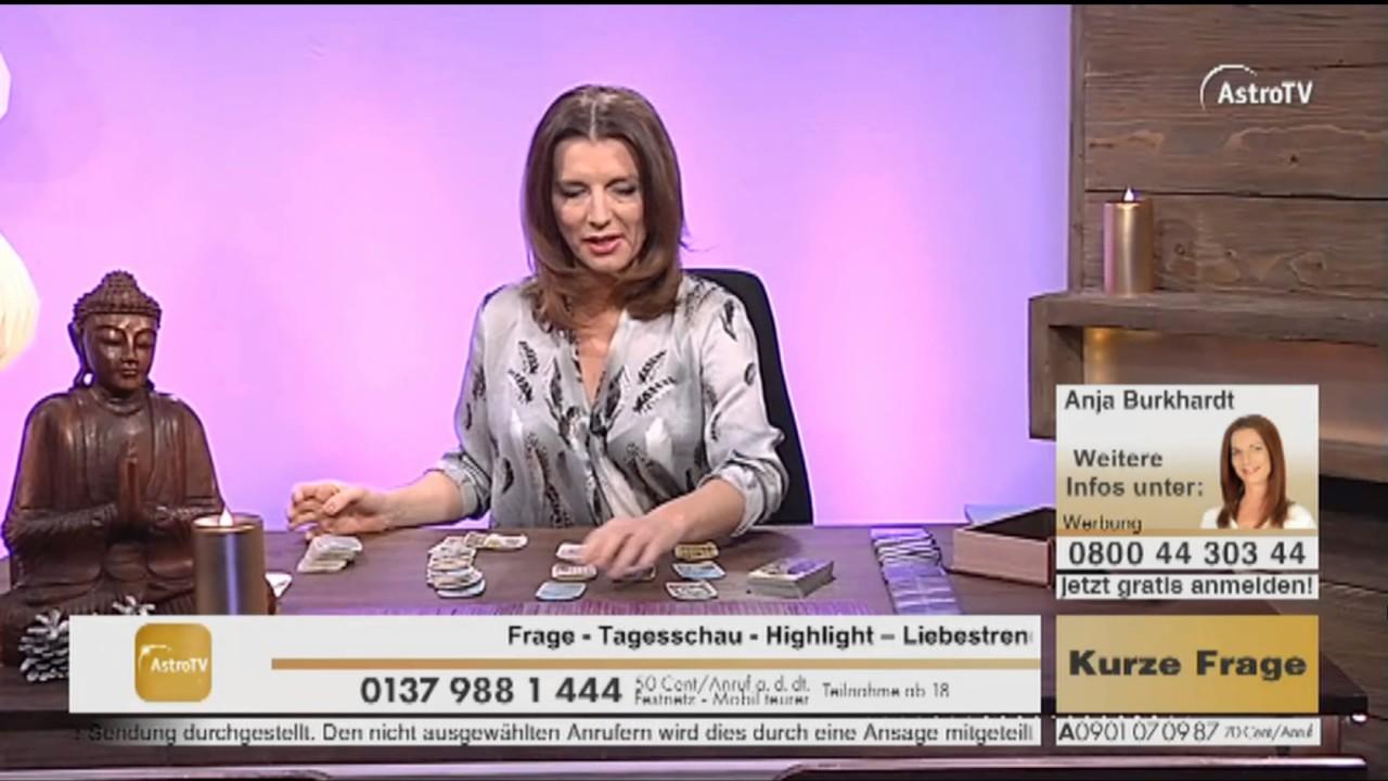 Kartenlegen mit Anja Burkhardt Live auf AstroTV-HD - YouTube