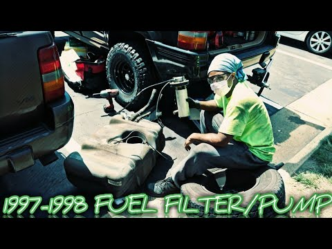 FUEL PUMP/FILTER REPLACEMENT (1997-1998 JEEP GRAND CHEROKEE) on jeep fuel pump, jeep cherokee sport hood, jeep cherokee sport front axle, ford escape fuel filter, jeep cherokee sport power steering hose, jeep commander fuel filter, jeep tj fuel filter location, jeep wrangler fuel filter, hyundai santa fe fuel filter, chevrolet s10 fuel filter, 2000 jeep xj fuel filter, jeep cherokee sport engine, jeep liberty fuel filter, jeep cherokee sport decal, isuzu trooper fuel filter, jeep cherokee sport front end, nissan armada fuel filter, jeep cherokee sport tires, jeep compass fuel filter, jeep cherokee sport fuel pressure regulator,