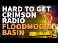 Hard to get Crimson Radio Floodmoor Basin Borderlands 3