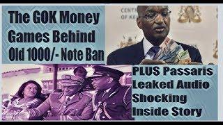 Secret Mischief Behind Old Kshs 1000 Notes Withdrawal