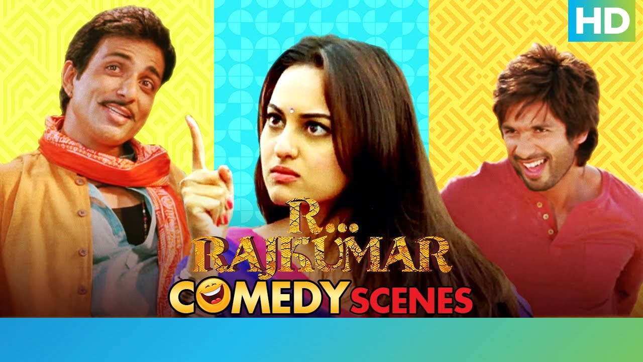 Download R Rajkumar Hindi Movie - Best Comedy Scenes | Shahid Kapoor, Sonakshi Sinha & Sonu Sood