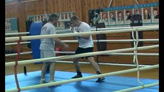 Тренировка Александра Поветкина