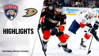 Florida Panthers vs Anaheim Ducks | Feb.19, 2020 | Game Highlights | NHL 2019/20 | Обзор матча