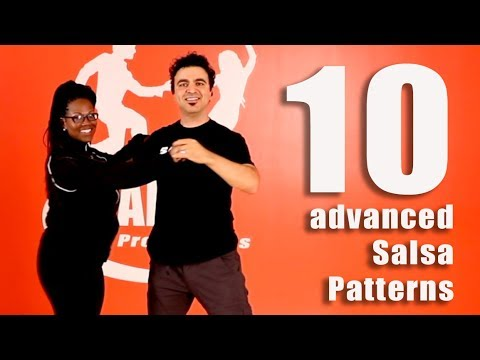 10 advanced salsa patterns in just 4 minutes (2018)