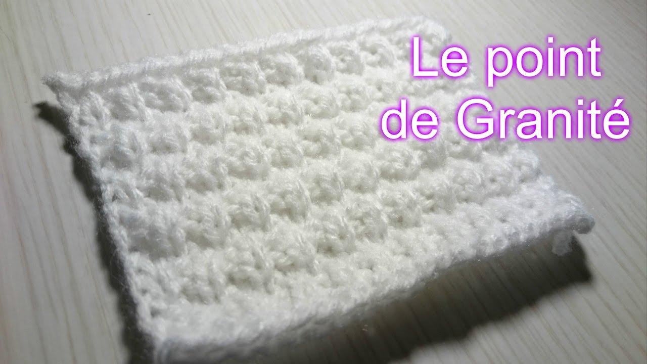 Point granité tricot