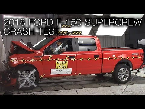 Ford F-150 Supercrew (2018) Frontal Crash Test