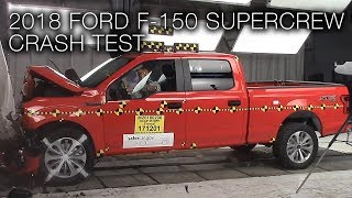 Ford F-150 Supercrew (2018) Frontal Crash Test