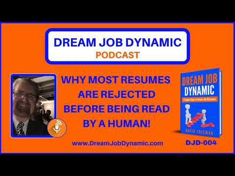DJD-004 WHY MOST RESUMES ARE REJECTED BEFORE BEING READ BY A HUMAN