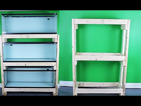 HOW TO: Build An Aquarium Rack - Cheap And Easy