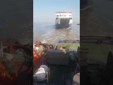 Dahej - Ghogha ro-pax ferry ship halted in sea after high temperature alarm rings