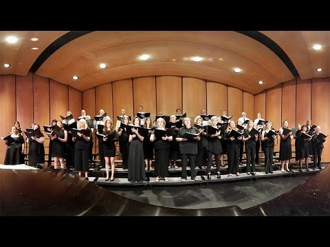 The Seal Lullaby in 360 VR - Eric Whitacre - The River City Singers